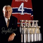 Born on this day in 1931, so very sadly missed today: #Habs legend and @HockeyHallFame icon Jean Béliveau http://t.co/QZjNfKVQ2k