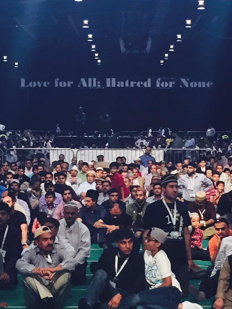 """""""Love for All; Hatred for None"""" - very good words to live by! #Ahmadiyya http://t.co/b6locWYIz1"""