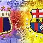 #Barcelona goleó al #Quito http://t.co/4moHag5qKk http://t.co/v0RYO6xE3O