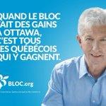Avec des députés du @BlocQuebecois le Québec va recommencer à gagner! http://t.co/gW0UQeOKTd #PolCan #Elxn42 #BlocQc http://t.co/ffqsDvUMdb