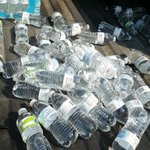 Please remember to RECYCLE your empty water bottles! #ComeGetTheSolution http://t.co/F1XIInEPq0