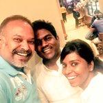 Met and wished my brother!!! @thisisysr #HappyBirthdayYuvan #4YearsOfBlockbusterMankatha @vasukibhaskar
