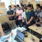 Visita técnica de los estudiantes de la @espol y @ucatolicagye a la #CZ5 @Arcotel_ec #Guayaquil http://t.co/RBYHlJS0xS