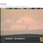Alaskas Mount McKinley, as seen via the @cspanbus C-SPAN school bus June 1996 http://t.co/0thFFpP0RP http://t.co/GeoFje8x7X