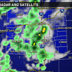 Isolated showers and storms are possible today, with the heaviest rain falling to our south. #9wx #9newsmornings http://t.co/OjnuDDu3mk