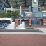 Nice and calm this morning at the @usopen, Well atleast till the gates open :). #OpeningMonday