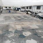 Se realizo limpieza de escombros del incendio del Colegio Pedro Vicente Maldonado @eluniversocom @testigomovil http://t.co/X0b0P9N9JH