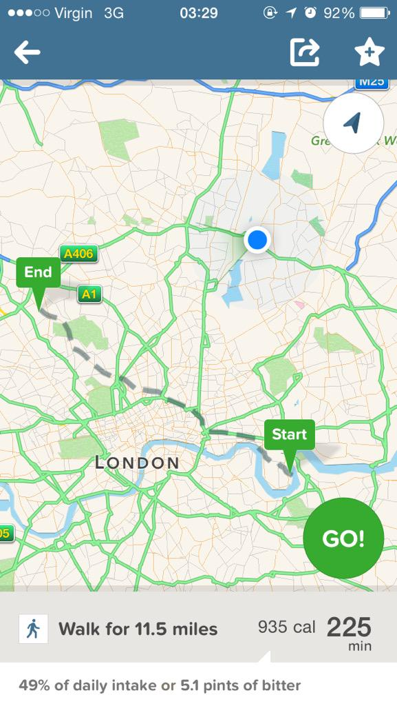 First and last time i use @Uber @UberUK this jackass doubling my fare and driving me scenic route around London http://t.co/k8w9u2cwda