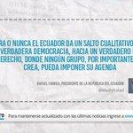 """No se pierda: """"El poder de veto y el viejo país"""", escrito por Rafael Correa (@mashirafael) http://t.co/Xta3asb0fq http://t.co/rN7l64kX61"""
