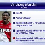 Who is Anthony Martial? #SSNHQ http://t.co/FUdCbAK2Hb