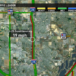 Speeds SB I-25 from 84th Ave. to 120th Ave. are slowwww. #9NewsMornings http://t.co/0UZZ1JUMID