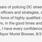 I have every confidence in Chief Lanier: http://t.co/EmVHEoEars