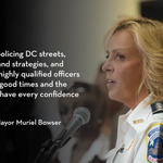 I have every confidence in Chief Lanier: http://t.co/7JsHKIpPrq