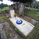 Harold Starrs grave at Radnor Street, #Swindon today - exactly 75 years after his death. @swindonlink @swindonadver http://t.co/NJ3f4OXnqb