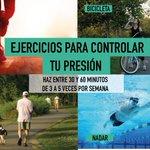 Ejercítate para controlar tu presión #FelizLunes @IESSec @REspinosa_G @JOSEBORREROM @estebanugaldep http://t.co/z6exok0mGZ