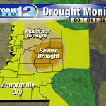 #MSwx - We have big drought problems & no relief expected in the short term. Be safe with any sort of flame outdoors! http://t.co/7W5DykSDJv