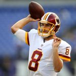 Kirk Cousins named week 1 starter for Redskins per @DiannaESPN. Cousins is 2-7 in his career as a starter in WAS. http://t.co/lvOhrZubLy