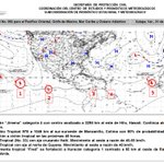 #BoletínTropical: Pacífico Huracán4 #Jimena y 97E c/80% para CT; Atlántico Huracán1 #Fred en Isla Cabo Verde http://t.co/gZTuKgs9NB
