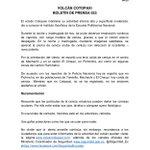 A continuación el boletín de prensa 033 sobre situación del #VolcánCotopaxi → http://t.co/BBwfaqnkvY http://t.co/HzhPkc0UkL