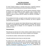 A continuación el boletín de prensa 033 sobre situación del #VolcánCotopaxi►http://t.co/7fEiGUa13L http://t.co/gyHQWds94N