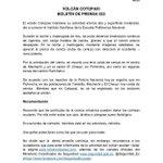 Compartimos boletín de prensa 033 sobre situación del #VolcánCotopaxi vía @Seguridad_Ec #AtentoEcuador http://t.co/DSXvhnLVNC