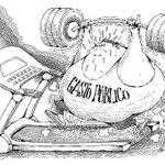 Urgente optimización del peso corporal; #caricatura del día por Pancho Cajas. Más caricaturas» http://t.co/TezCylCeag http://t.co/jctEgof1kK