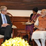 President-elect of @UN General Assembly Mr. Mogens Lykketoft & I had a meeting today. @lykketoft http://t.co/hBM7RGcIqr