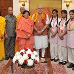 Met girl students from Vatsalya Gram, Vrindavan. http://t.co/fXw3UCQAa8
