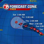 #Fred has strengthened to a hurricane as it approaches the Cape Verde Islands http://t.co/BXH1jK9vsn http://t.co/wPAFchTOMj