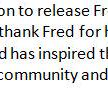 .@buffalobills GM Doug Whaley has issued the following statement regarding the release of RB Fred Jackson: http://t.co/nGvTUuy5zZ