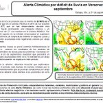 #AlertaClimática: #ElNiño continuará fortaleciéndose, en agosto en #Veracruz ocasionó lluvias por abajo del promedio http://t.co/FjLEZbnlL9