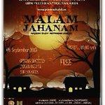 #jogja @ginanovitasari 4/9/15 19.00 Teater UKM Seni UPNV Yk | Malam Jahanam di Societed TBY | Free http://t.co/E6Rmrk82Ma