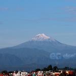 El @Citlaltepetl_MX o Pico de #Orizaba, visto desde la capital del estado #Xalapa #Veracruz @webcamsdemexico http://t.co/1fzvjOsRKP