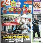 Le congédiement de Frank Klopas en couverture du @24hMontreal + article sur la page 37 Ma chronique: Demain #IMFC http://t.co/zvOVA7BRSY