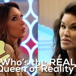 Let's settle this. Who's the real 'Queen of Reality'? RT for Janice, fave for Farrah. #CBB http://t.co/Cn4vXFfmUN