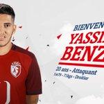 OFFICIEL ! Yassine Benzia vient de sengager avec le LOSC pour 1 M€ ! http://t.co/XMftGs23Nt