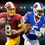 Which recently named starting QB will have a better season? RT #Bills @TyrodTaylor FAV #Redskins @KirkCousins8 http://t.co/Z5GCle8pdp