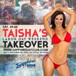 Taisha takes over @SapphireDayClub on 09.05 during #LDW in #Vegas http://t.co/l0qt1IMzxt #LasVegas #MondayMotivation http://t.co/W9hj74H7qb