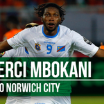 BREAKING | Striker Dieumerci Mbokani joins #NCFC on loan from Dynamo Kiev. Welcome, Dieu! http://t.co/OB9bAMExCN http://t.co/glmMSwgt3R