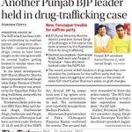 AAP Feeds Punjab BJP leader held in drug-trafficking case! https://t.co/BTPdd4XP0r http://t.co/bRVD2TWtoE