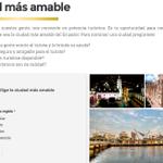 """#Loja """"Ciudad más amable"""" sigue votando en http://t.co/AQuEuugTUQ lideramos encuesta sigue los pasos como votar http://t.co/FEot1fswew"""