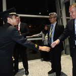 #todayishere as our CEO, Christoph Mueller surprises crew members of MH433, the first MAB flight to arrive in KLIA http://t.co/7EQJf5s5pW