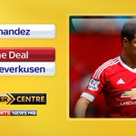 #MUFC have confirmed striker Javier Hernandez has joined Bayer Leverkusen on a permanent deal: http://t.co/2EQCVltMhi http://t.co/BpCjVzyqjO