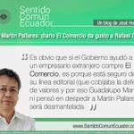 Caso Martin Pallares: @elcomerciocom da gusto a @MashiRafael. Lea el blog de José Hernandez: http://t.co/80p83CICMo http://t.co/w1e3eZukPC
