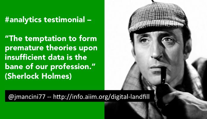 """""""War is 90% information."""" -Napoleon Bonaparte and other fun quotes about #bigdata http://t.co/G9udiYQdyw #msure http://t.co/8ZPwLEoESF"""