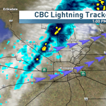 Another line of weak shwrs to move thru then further clearing this aft #cbcmb #mbstorm @StormStructure http://t.co/uI4482H5V8