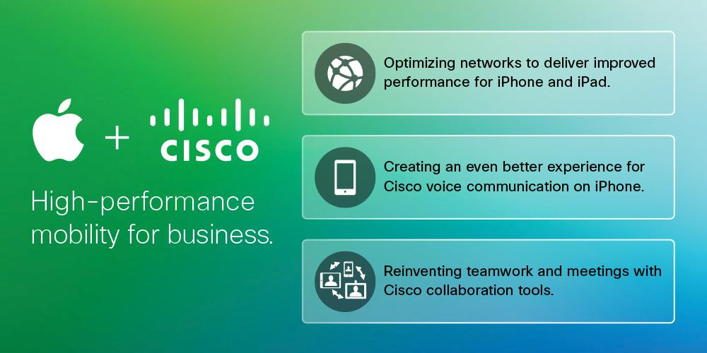 Cisco and Apple partner to deliver an awesome mobile work experience. #MobileWork http://t.co/qmhuUG7M9Q http://t.co/FmgfawwPFl