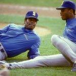 On this day 25 years ago, Ken Griffey & Ken Griffey Jr. became 1st father-son duo to play on same team (Mariners). http://t.co/oeMlLqRfeQ