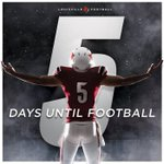 Countdown to Kickoff! Cards vs. Auburn on Sept. 5 in the Georgia Dome http://t.co/Ph3D67i2zq