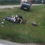 #BREAKING motorcycle crash at Salisbury and 500 N. No word yet on rider. @jconline http://t.co/LfOIdmXjhf